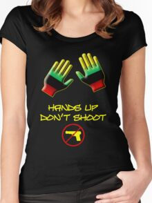Hands Up Don't Shoot Women's Fitted Scoop T-Shirt