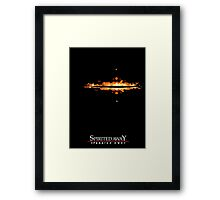 Spirited Away Lights Framed Print