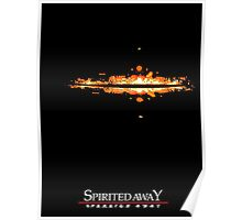 Spirited Away Lights Poster