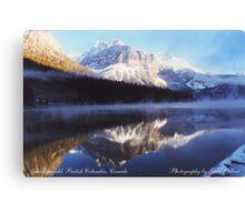 Lake Emerald, British Columbia, Canada Canvas Print
