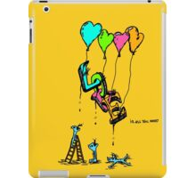 Love is all you need iPad Case/Skin