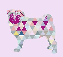 Triangle Pug by Doggenhaus