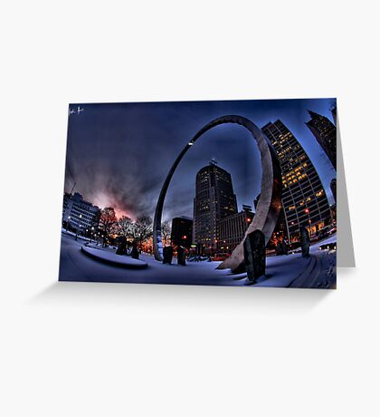 Stargate? Greeting Card