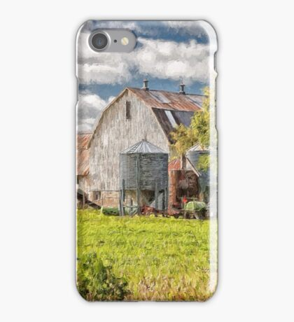 The Farm - painted iPhone Case/Skin