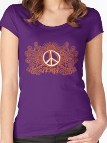 Peace Will Come Women's Fitted Scoop T-Shirt