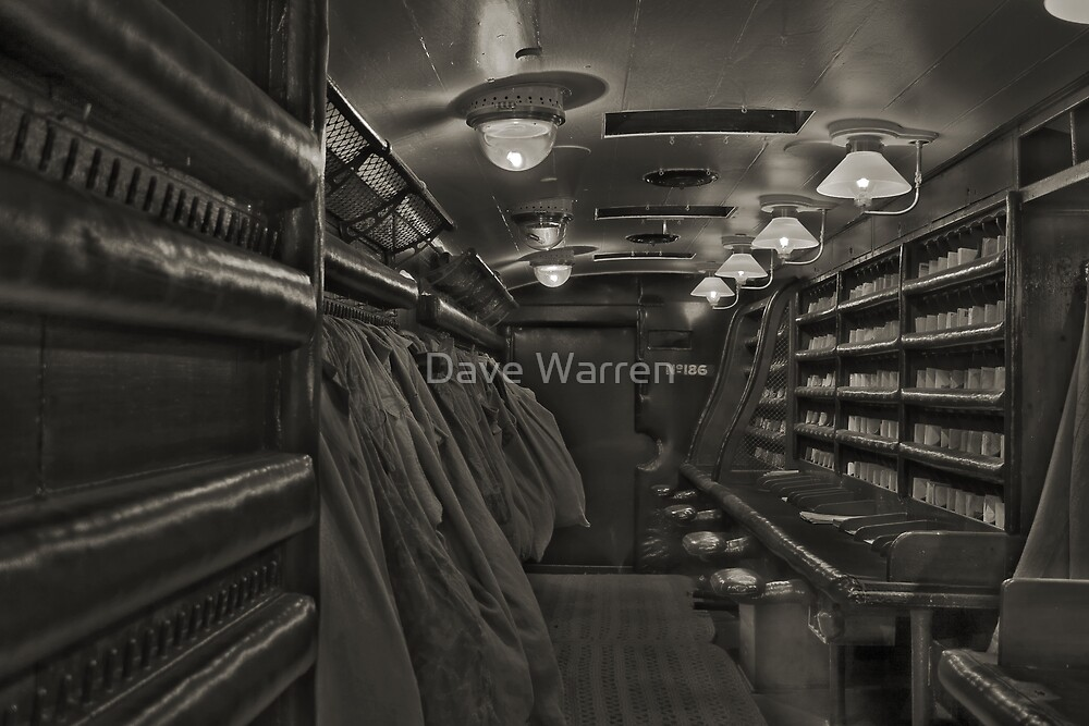 Mail Coach.....Sepia retouched by Dave Warren