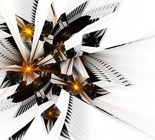 Broken Sun Mirror by NorwegianAngel