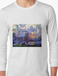 Late afternoon rocks Long Sleeve T-Shirt
