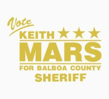 Keith Mars for Sheriff (Color) One Piece - Short Sleeve