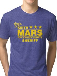 Keith Mars for Sheriff (Color) Tri-blend T-Shirt