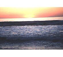 The Sun Winks Goodnight Photographic Print