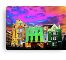 An Oxford Street Canvas Print