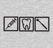 Dentist icons symbols Kids Clothes
