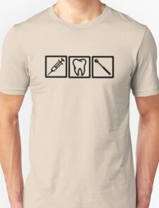 Dentist icons symbols T-Shirt