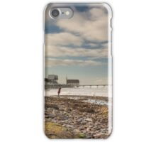 Woman, Dog and Pier iPhone Case/Skin