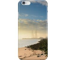 Sunset at the North Gare iPhone Case/Skin
