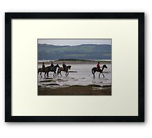 New Years Eve Ride Framed Print