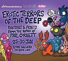 Erotic Terrors of the Deep by Phil Corbett