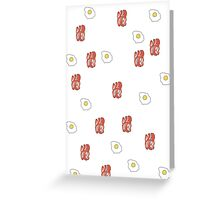 Bacon & Eggs Greeting Card