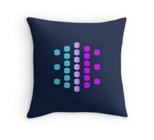 Dimension and Creation Throw Pillow