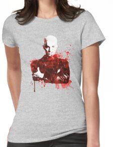 Splatter Spike Womens Fitted T-Shirt