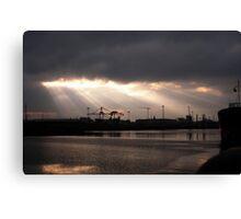Belfast harbour Canvas Print