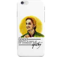 Gabriel - All Stardust & Apathy. [Alt] iPhone Case/Skin