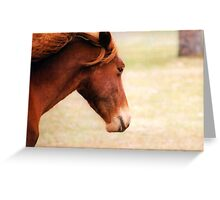 Born Free Greeting Card