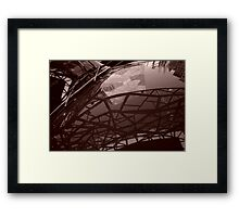 Humber Sunbeam, Federation Square Framed Print