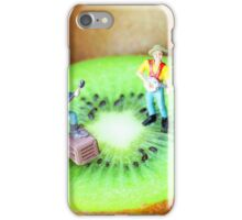 Band Show On Kiwi Fruits iPhone Case/Skin