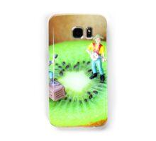 Band Show On Kiwi Fruits Samsung Galaxy Case/Skin
