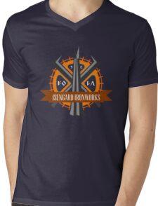 Isengard Ironworks Mens V-Neck T-Shirt