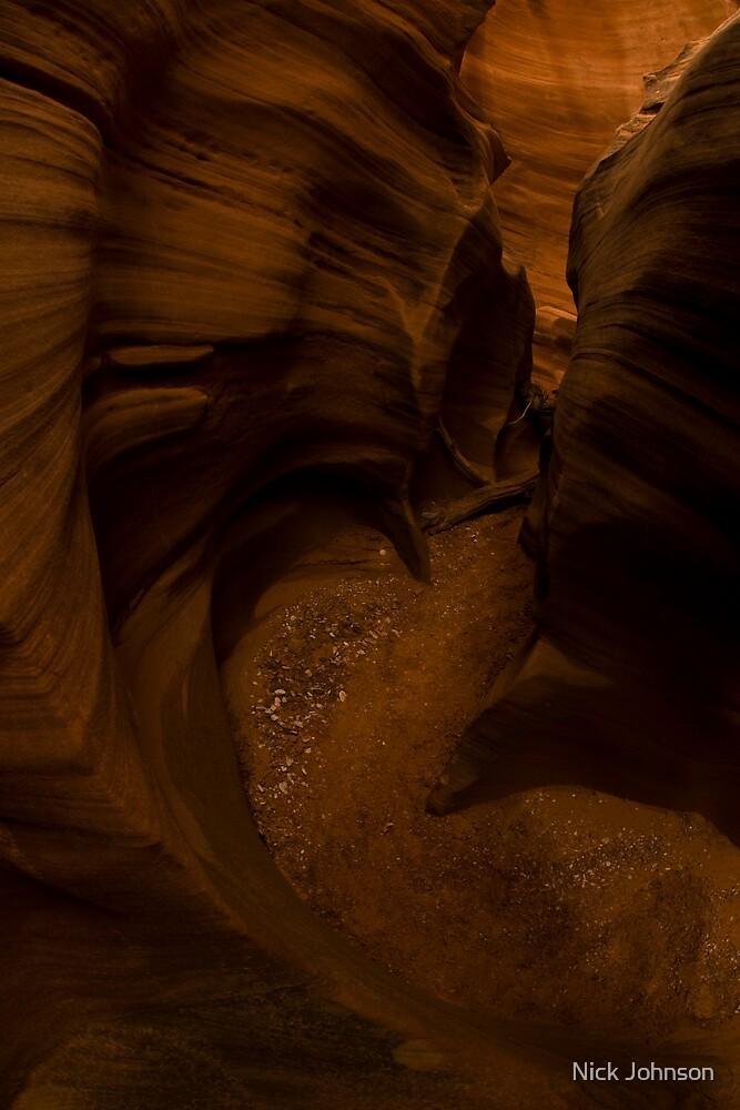 Slot Canyon by Nick Johnson