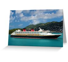 A Time To Cruise Greeting Card