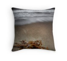 Blackmans Bay Beach Throw Pillow