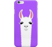 LLAMA PORTRAIT #8 iPhone Case/Skin