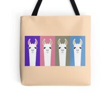 LLAMAS FOUR Tote Bag
