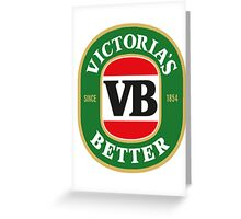 Victoria's Better Greeting Card