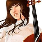Cellist by Skyscape