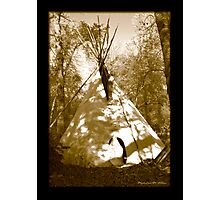 Black Crow's Tipi  Photographic Print