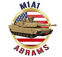 M1A1 Abrams  Photographic Print