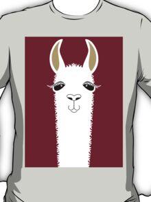 LLAMA PORTRAIT #3 T-Shirt