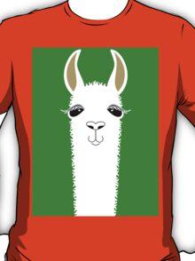 LLAMA PORTRAIT #2 T-Shirt