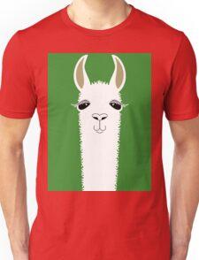 LLAMA PORTRAIT #2 Unisex T-Shirt