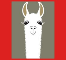 LLAMA PORTRAIT #1 Kids Clothes