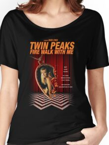 Twin Peaks: Fire Walk With Me Women's Relaxed Fit T-Shirt