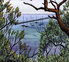 Couta boats Sorrento by Faye Doherty