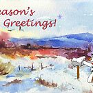 Season's Greetings from me to you! by Maree  Clarkson
