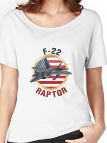 F-22 Raptor  Women's Relaxed Fit T-Shirt