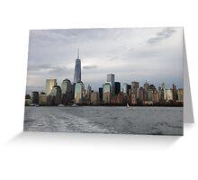 Manhattan Skyline 2 Greeting Card